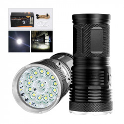 XANES EX14/EX18 T6 7500K LED 2500Lumens 3 Modes IPX5 Waterproof Flashlight 18650 Battery