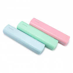 UV Portable Toothbrush Sterilizer Box USB / Battery Charging Dual Use