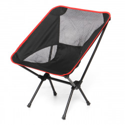 ZANLURE Portable Folding Fishing Chair Outdoor Foldable Camping Chair Collapsible Beach Chair