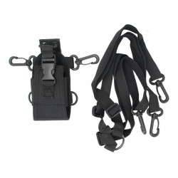 Walkie Talkie Storage Bag Waist Hanging Bag Interphone Intercom Radio Case Holder Pouch Bag