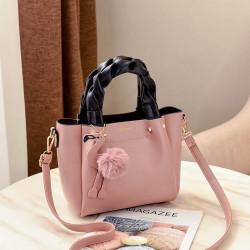 Women Fashion Handbag Crossbody Bag Shoulder Bag Flamingo Pendant Toe