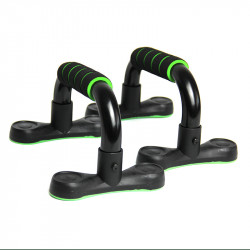 1 Pair Push Up Stands Non-Slip Cushioned Foam Grip Sports Supports Stand Home Fitness Exercise Tools