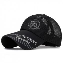 Long-brimmed Sunscreen Baseball Cap Breathable Print Cap