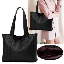 PU Leather Shoulder Bag Shopping Handbag Sports Travel Fitness Yoga Shoulder Bag