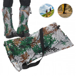 1 Pair Outdoor Hiking Shoe Covers Snowproof Waterproof Mud proof Anti Bite Snake Guard Leg Protection Leggings