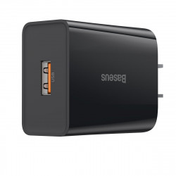 Baseus 18W QC3.0 Single USB Charger for iPhone 11 Pro XR Huawei P30 for Samsung Xiaomi
