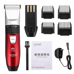 Rechargeable Men Electric Hair Clipper Trimmer Beard Shaver 110-240V Haircut Ceramic Blade
