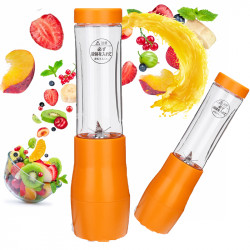 280ML 6 Blades Auto USB Rechargeable Juicer Fruit Maker USB Outdoor Blender Accompany Cup