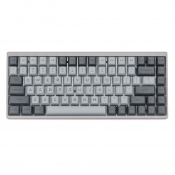 KBDfans Cement Grey Keycaps PBT Sublimation 145 Keys Mechanical Keyboard Keycap
