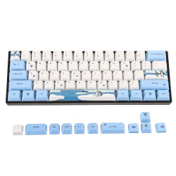 OEM Profile PBT Sublimation Penguin Keycap for 60% Anne pro 2 Royal Kludge RK61 Geek GK61 GK64 Mechanical Keyboard