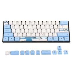 OEM Profile PBT Sublimation Penguin Keycap for 60% Anne pro 2 Royal Kludge RK61 Geek GK61 GK64 Mechanical Keyboard
