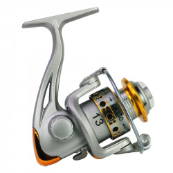 ZANLURE Aluminum Alloy 5.2:1 Fishing Reel Folding Arm Left Right Interchange Fishing Wheel Outdoor Fishing Tool