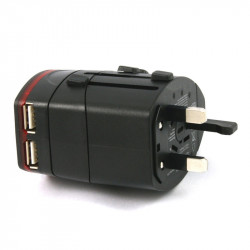 Au / Uk / Us / Eu International / World / Travel  Adapter / Converter Plu
