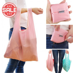 Shopping  Bag Canvas Super Maket Foldable Cloth Big Portable