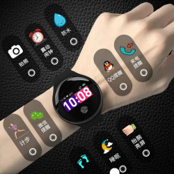 Smart Watch Multi-Function Color Screen Sleep Monitoring Health Students Boys And Girls Sports Bracelet Bluetooth Wechat Pedometer Call Reminder Oppo Xiaomi 3 Glory Huawei 4Vivo Universal Edition