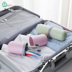 Portable Travel Toothbrush Box With Cover Breathable