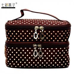 Lady'S Cosmetic Bags Waterproof Make Up Wash Travel Case Box
