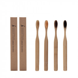 Bed And Breakfast Bamboo Wood Cross-Border Environmental Protection Toothbrush Soft Bristle Toothbrush Adult Bamboo Bamboo Toothbrush