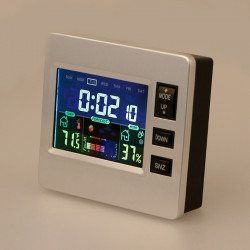 Wireless Lcd Weather  Station Thermometer Hygrometer Forecast