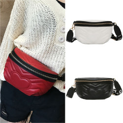 Laser Shoulder Bag Women'S Belt Waist Bag Bum Pochete