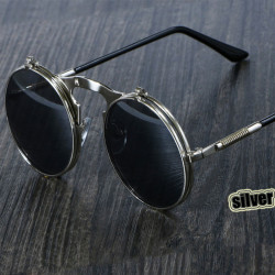 Sunglasses Round Metal Women Style Retro Sun Glasses For Men