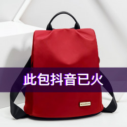 Shoulder Bag Lady 2019 New Wild Korean Fashion Simple Theft Oxford Canvas Large Capacity Travel Back Pack