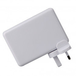 Top Wall Charger Uk Plug Adapter 6 Port Home Travel Ac Phon