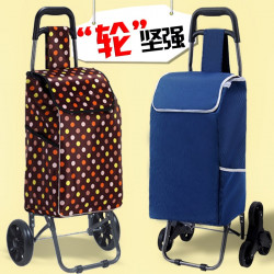 923176 Portable Folding Shopping Cart Trolley Shopping  Bag