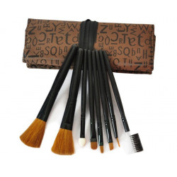 Makeup Brushes Set Kit With Bag Case Make-Up Brush Cosmetic