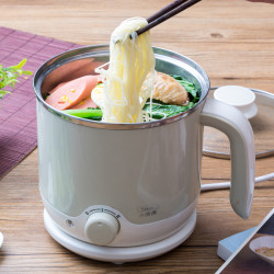 Electric Pot Mini Household 1-2 Small Household Appliances Small Pot One Pot Kitchen Appliances Electric Skillet Multifunction Face Small