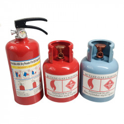 Creative Personality Gift Simulation Gas Tank Piggy Bank Fire Promotion Exhibition Gift Fun Fire Extinguisher Piggy Bank