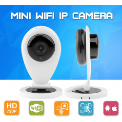 Mini 720P Wifi Ip Camera Smart P2P Wireless Baby Monitor